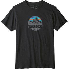 Patagonia Fitz Roy Scope Organic T-Shirt Herren black